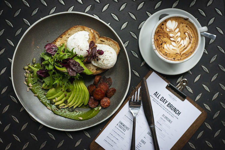 Brunch at Small Batch Coffee Norfolk Square