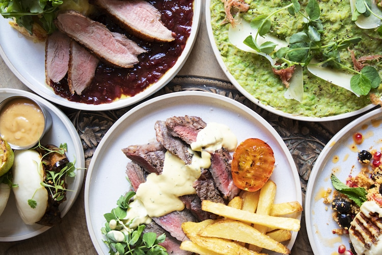 classic and modern dishes at The George Payne Hove