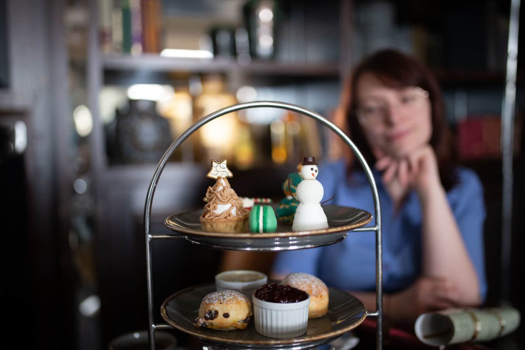 Christmas afternoon tea - Hilton Brighton