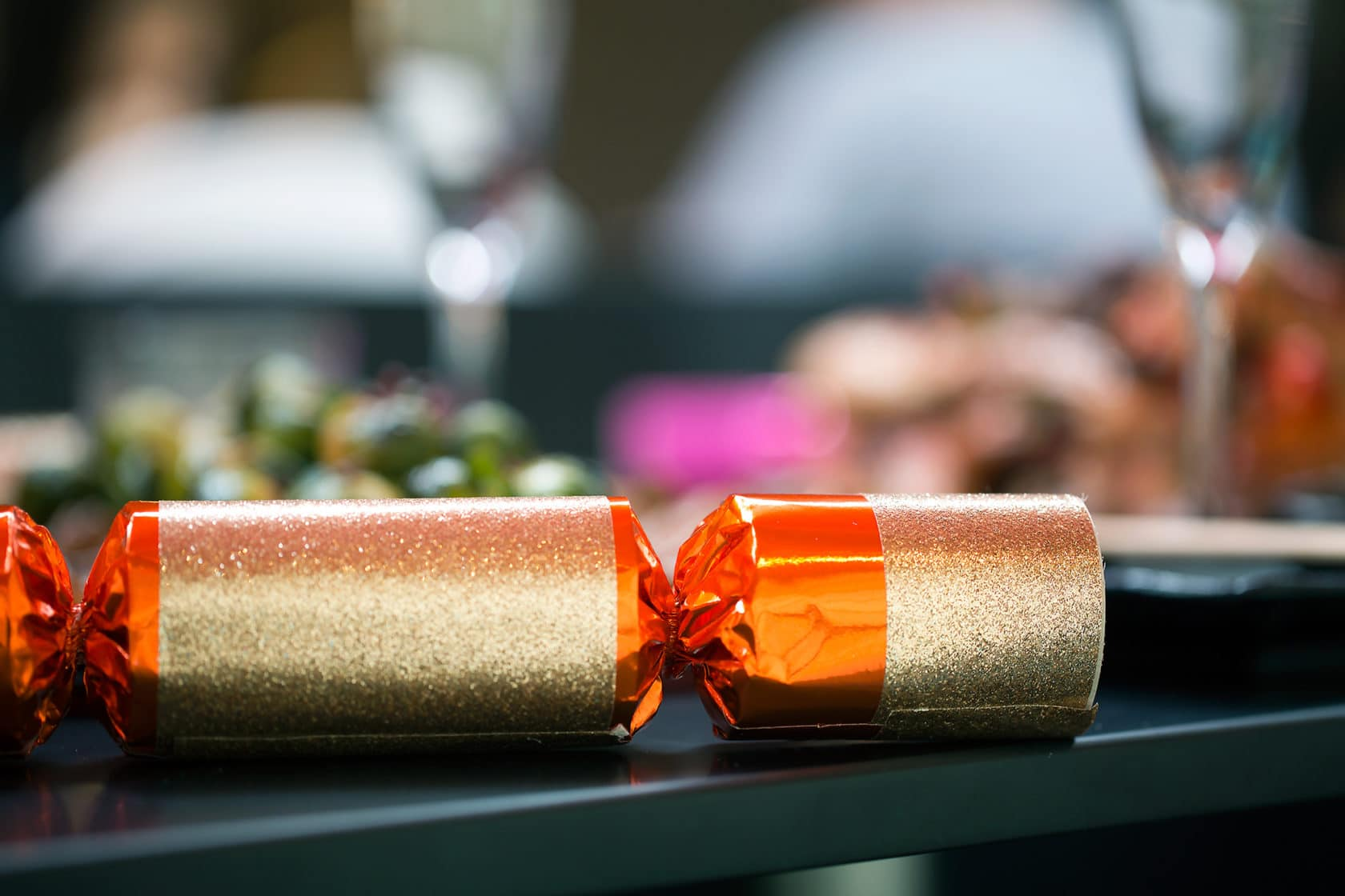 Brighton Restaurant Guide - picture of Christmas cracker taken at Moshimo