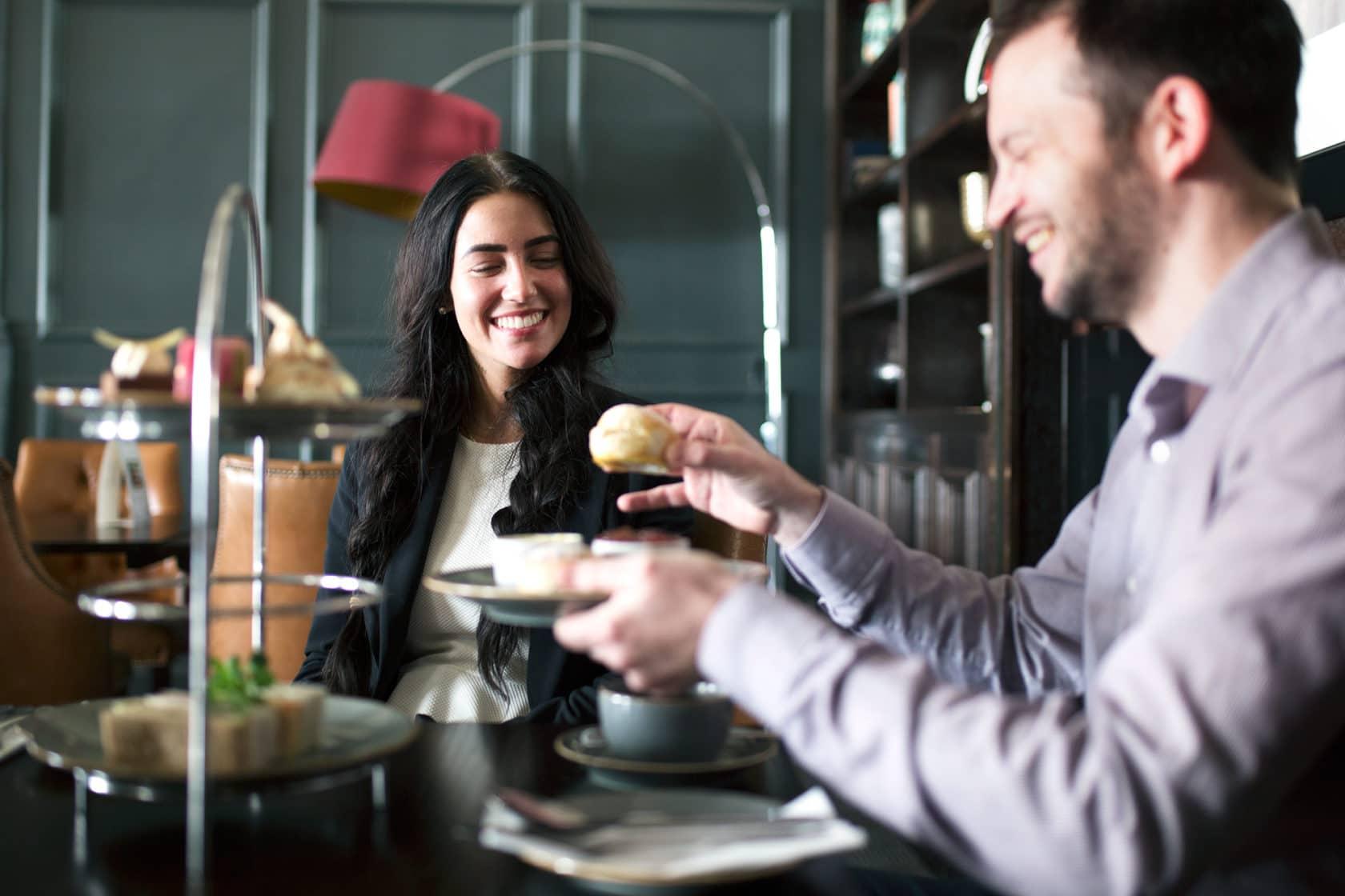 Afternoon tea at The Hilton Brighton Metropole Bar