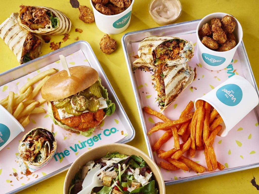 vegan fast food, Vurger Co Brighton