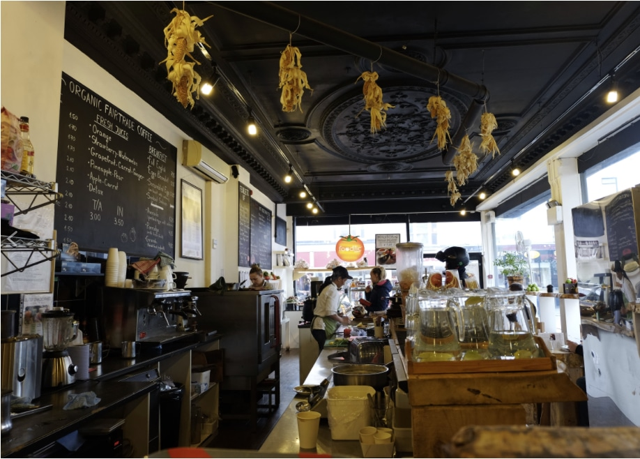 Interior of Foodilic on Western Rd