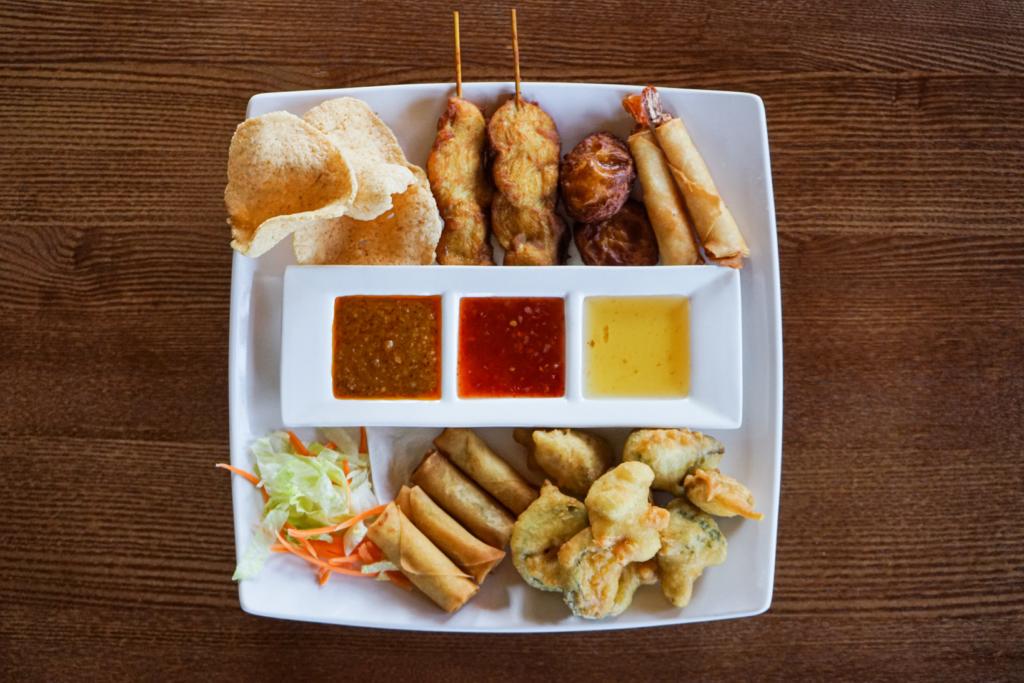 Thai starter platter