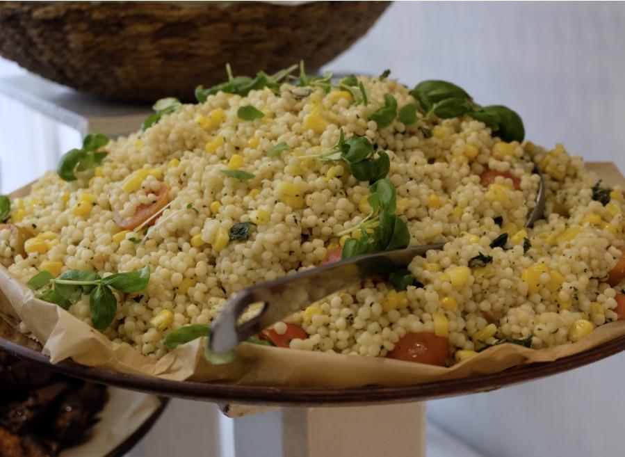Giant cous cous salad