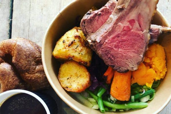 Social Board Sunday roast to go
