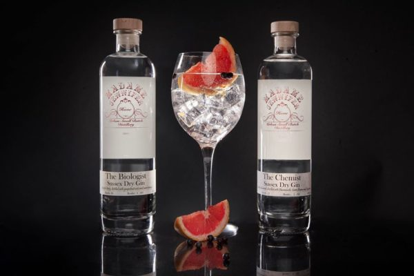 Madame Jeniffer distillery gins