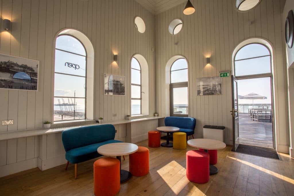 Interior of West Beach Cafe Bar
