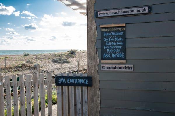 Beach Box Sauna