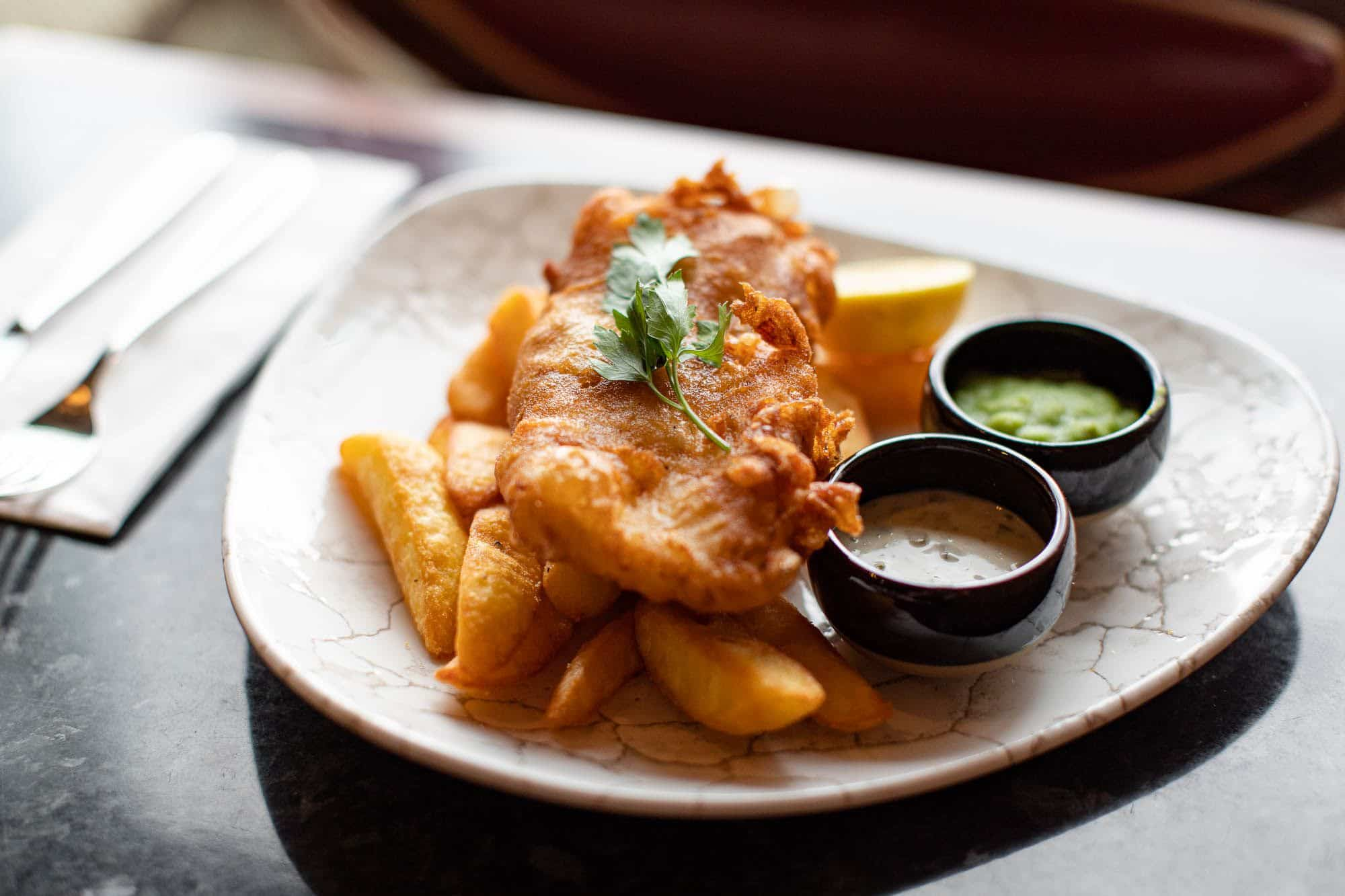 Fish and chips Taste Sussex