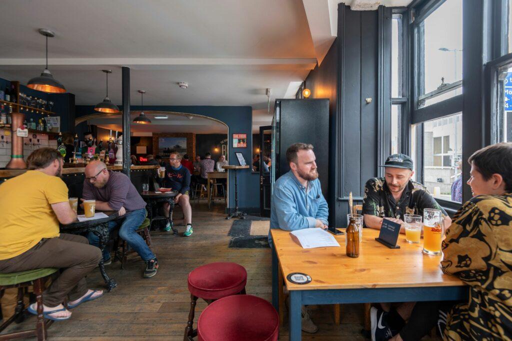 pub indoors