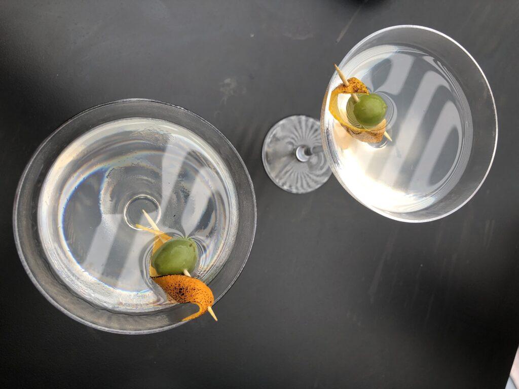 Burnt Orange Martinis
