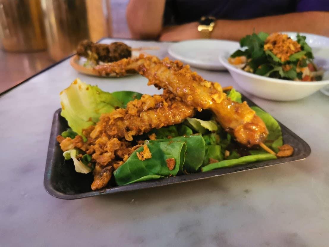 chilli fish sauce chicken sticks