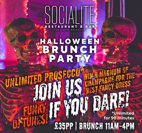 brunch party poster