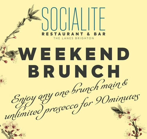 weekend brunch poster