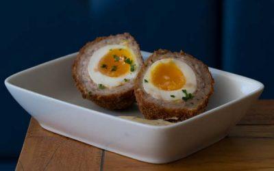 Bar snacks - scotch eggs