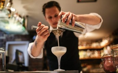 Cocktail mixology with Laurence at Hotel Du Vin - AA Rosette Awards in Brighton