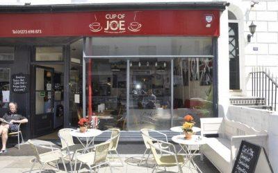 cup of joe, kemptown, cafe, brighton