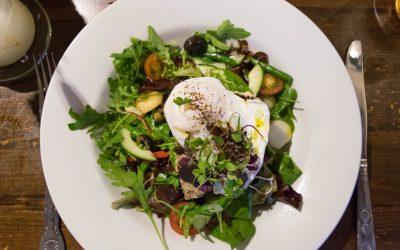Tuna Steak Nicoise Salad at The Sportsman Pub, Goddards Green, West Sussex