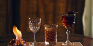 Drinks at The Plotting Parlour Brighton. cocktails brighton. Brighton restaurant awards.