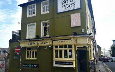 Earth and Stars. sustainable Brighton. Brighton Restaurant Awards