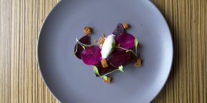 Beetroot Dish at Etch Brighton