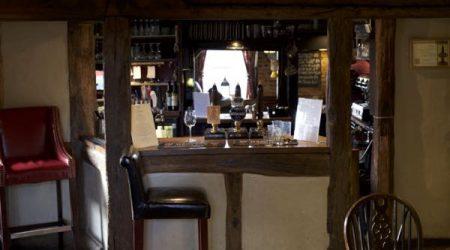 Bar -The Fountain Inn, Ashurst, Sussex food pub