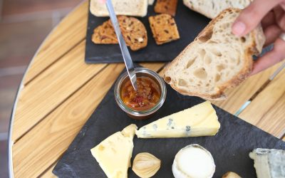 Chutney and platter at Great British Charcuterie