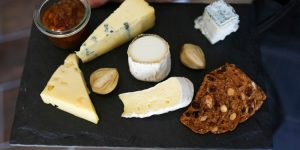 cheese platter at Great British Charcuterie