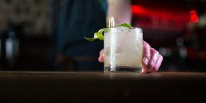 Cocktail at GungHo bar in Brighton