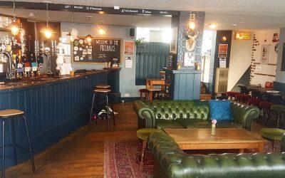 The Freehaus Brighton interior of bar
