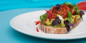 Vegan breakfast at Joes Cafe Brighton