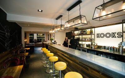 Bar area at Kooks, Brighton