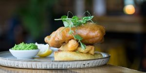 Fish and Chips at Libation in Hove
