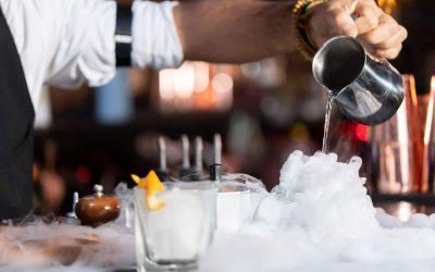 Making cocktails bohemia