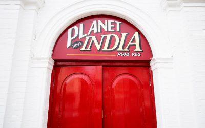 Planet India Hove. sustainable Brighton. Brighton Restaurant Awards