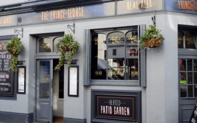 Prince George Pub. Gastro Pubs Brighton. Brighton Restaurant Awards