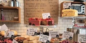 Selection of cakes - Flint Owl Bakery