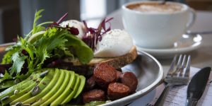 Breakfast Brighton at Small Batch Coffee Norforlk Square