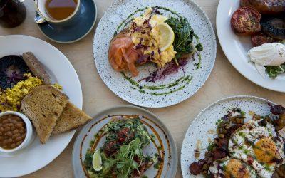 Food at Starfish and Coffee Brighton. breakfast Brighton. Brighton Restaurant Awards