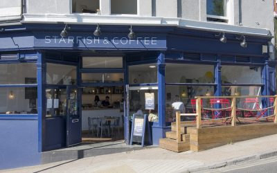 Starfish and Coffee cafe