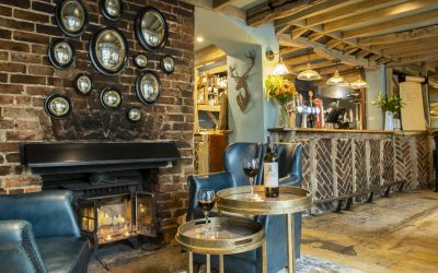 Interior of The Crown Inn Dial Post