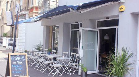 V&H cafe best instagram brighton restaurant awards BRAVO