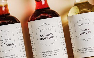 bottled cocktails, gimlet, old fashioned and negroni