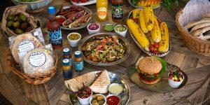 food on table at smorls
