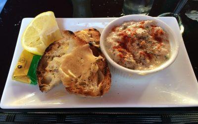 crab mayonnaise at the old bank
