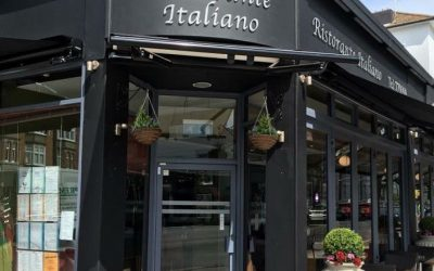 Outside of Orsino on a sunny day